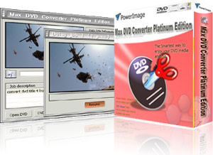 Max DVD Converter Platinum Edition screenshot