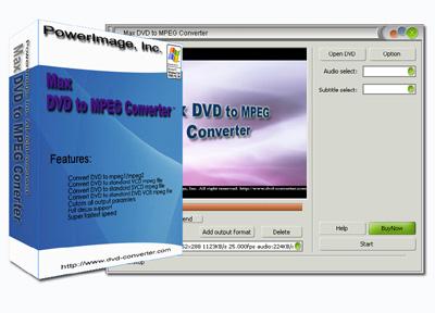 Windows 7 Max DVD to MPEG Converter 6.8.0.6107 full